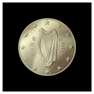 10 ¢ - Celtic harp