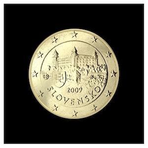 10 ¢ - Le château de Bratislava