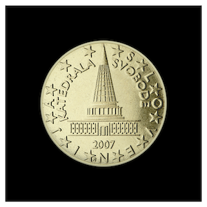 10 ¢ - The plans of the Slovenian Parliament