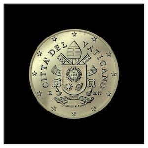 10 ¢ - Armoiries Pape François