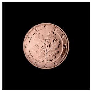 1 ¢ - Branche de chêne