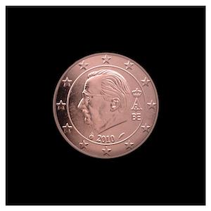 1 ¢ - Albert II c - (2009 - 2013)