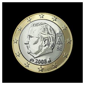 1 € - Albert II b - (2008)