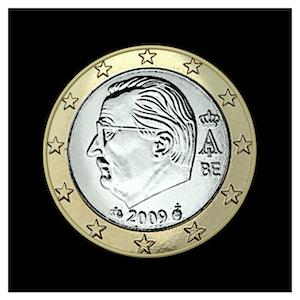 1 € - Albert II c - (2009 - 2013)