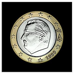 1 € - Albert II a