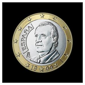 1 € Juan Carlos