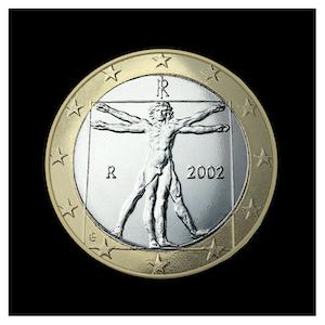 1 € - Proportions idéales du corps humain