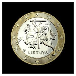 1 € - Le chevalier VYTIS