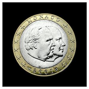 1 € - S.A.S Le Prince Rainier III