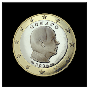1 € - S.A.S The Prince Albert II