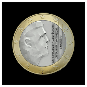 1 € - King Willem