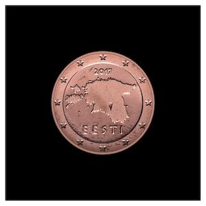 1 ¢ - Contours de l'Estonie