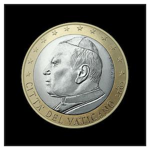 1 € - Jean-Paul II