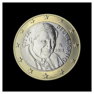 1 € - Benoît XVI