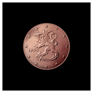 1 ¢ - Heraldic Lion