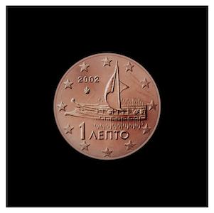 1 ¢ - A modern trireme