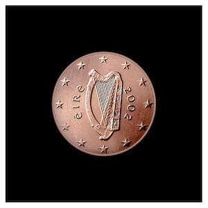 1 ¢ - Celtic harp