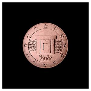 1 ¢ - Temple de Mnajdra