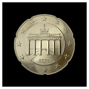20 ¢ - Brandenburg Gate