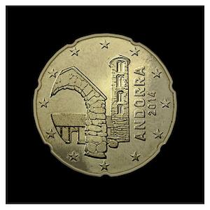 20 ¢ - Église de Santa Coloma