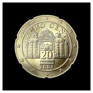 20 ¢ - The Belvedere Palace