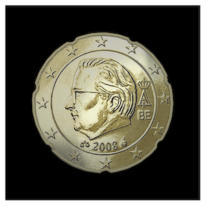 20 ¢ - Albert II b - (2008)
