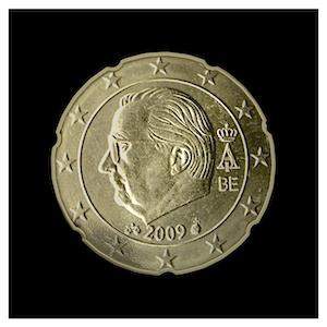 20 ¢ - Albert II c - (2009 - 2013)