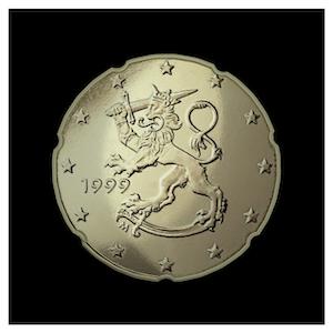 20 ¢ - Lion héraldique