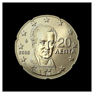 20 ¢ - Ioannis Capodistrias
