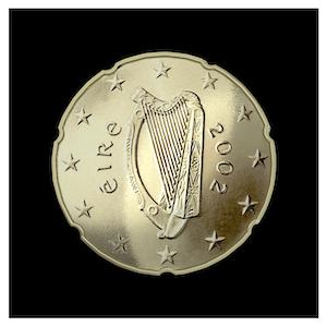 20 ¢ -Celtic harp