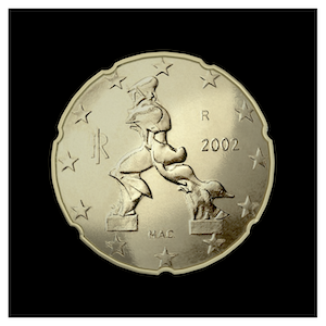 20 ¢ - Figure de proue d'Umberto Boccioni