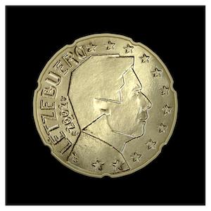 20 ¢ - Grand-Duke Henri