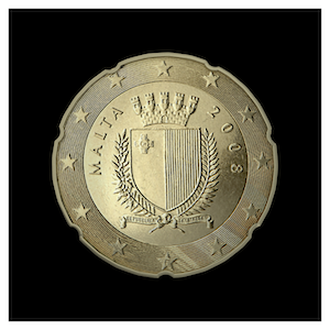 20 ¢ - Coat of Arms of Malta