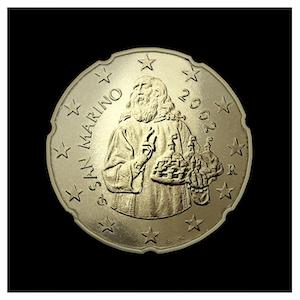 20 ¢ - San-Marino