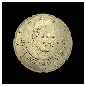 20 ¢ - Benoît XVI