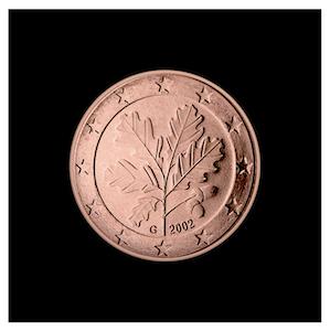 2 ¢ - Branche de chêne