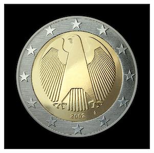 2 € - Aigle impériale