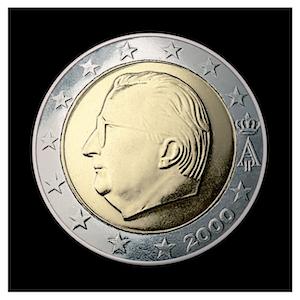 2 € - Albert II a