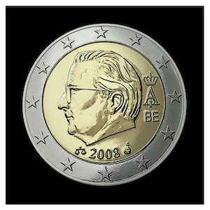 2 € - Albert II b - (2008)