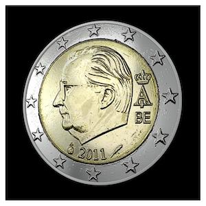 2 € - Albert II c - (2009 - 2013)