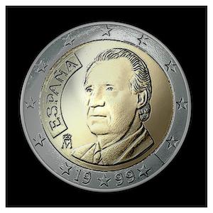 2 € Juan Carlos