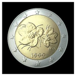 2 € - Feuille et fruit de la ronce