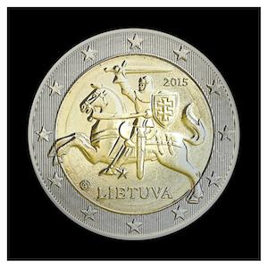 2 € - Le chevalier VYTIS