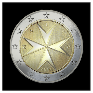 2 € - Sovereign Order of Malta