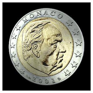 2 € - S.A.S The Prince Rainier III