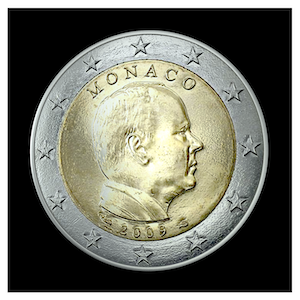 2 € - S.A.S The Prince Albert II