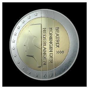 2 € - Queen Beatrix