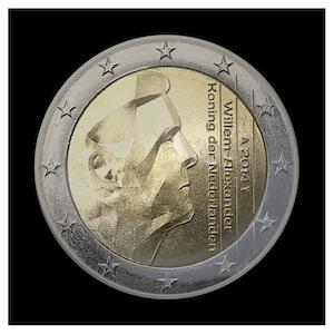 2 € - King Willem