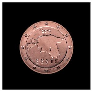 2 ¢ - Contours de l'Estonie