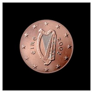 2 ¢ - Harpe celtique